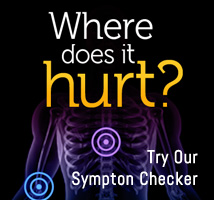 want to know more about your pain, try our symprom checker