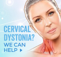 We now offer Xeomin Injection Therapy for Cervical Dystonia
