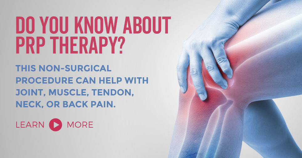 BMAC and PRP Therapies are minimally invasive procedures that can help with join, muscle, tendon, neck, or back pain