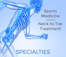 Panhandle Ortho are Bone & Joint Specialists and Sports Medicine Spaecialists offering Neck to Toe Treatment